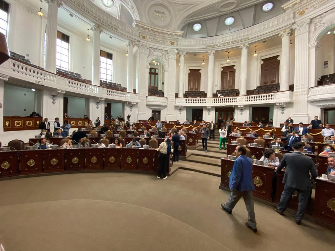 Impulsan en el Congreso de la CDMX reformas a leyes en materia de seguridad, prevención de delitos y violencia contra las mujeres