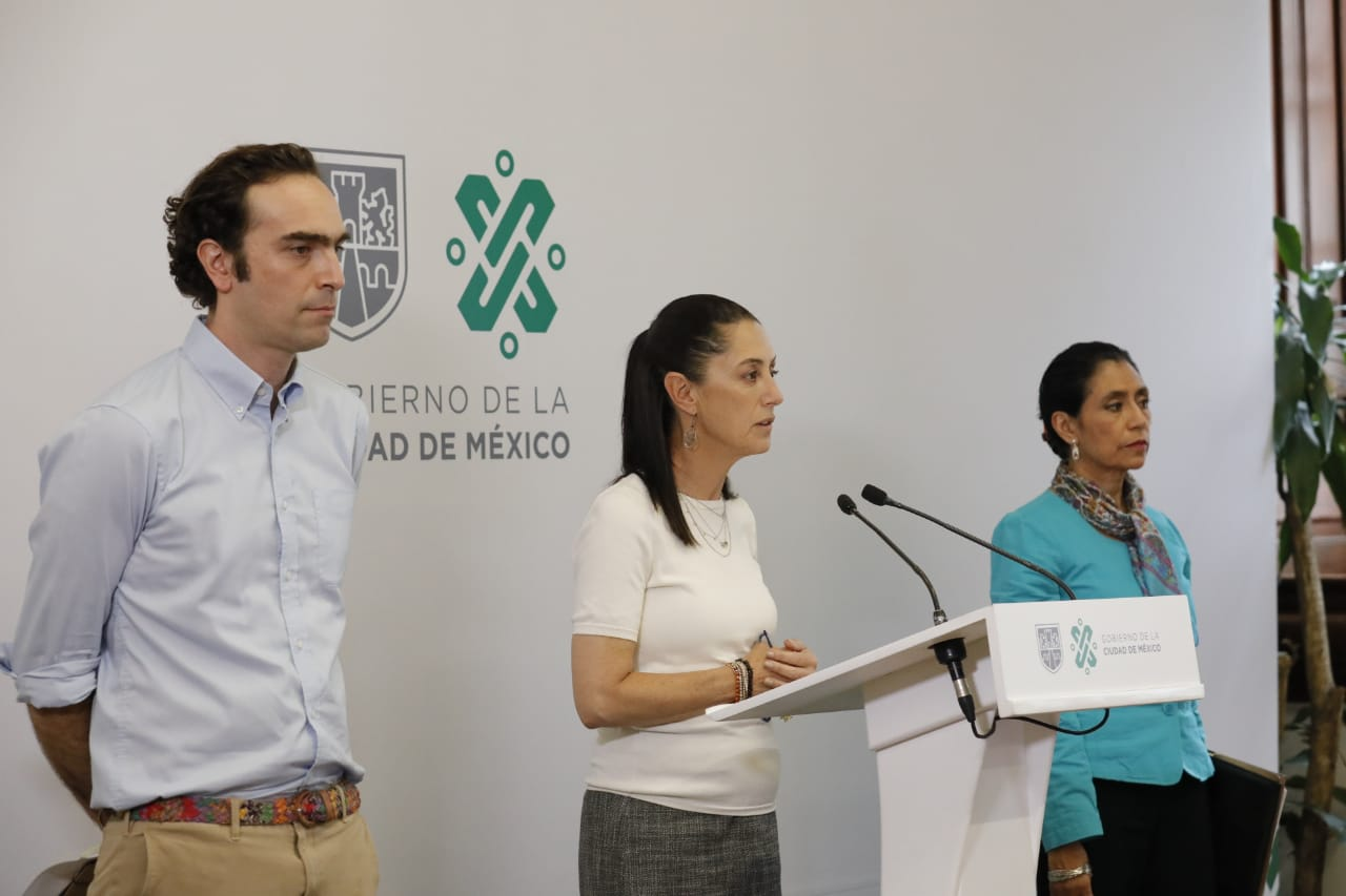 Anuncia Gobierno de la Ciudad de México seis medidas para reforzar prevención por COVID-19