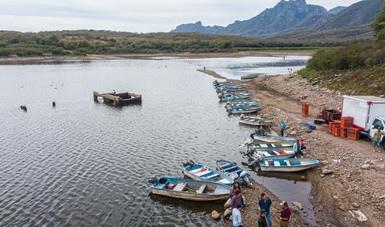 Arranca Conapesca Programa de Mejoramiento Productivo de Embalses en Guerrero, Colima y Sinaloa
