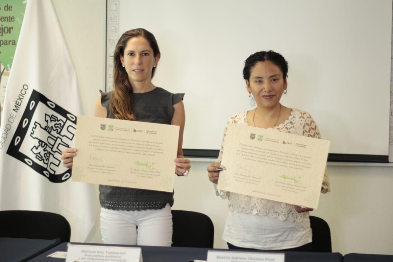 Fortalece INJUVE y PAOT concientización ambiental