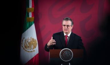 México y EE.UU logran convenio para combatir el COVID-19