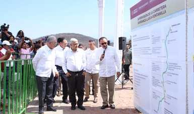 En la construcción de infraestructura carretera los recursos nacionales son para beneficio del pueblo: JJE