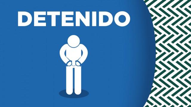 En Venustiano Carranza, oficiales de la SSC detuvieron a un hombre que extorsionaba y amenazaba cada mes a una mujer