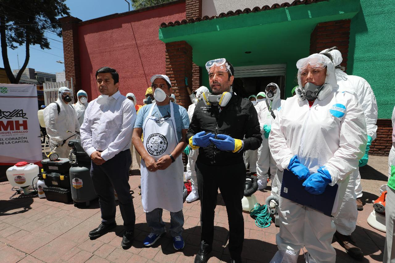 Arranca Miguel Hidalgo programa de sanidad para mercados
