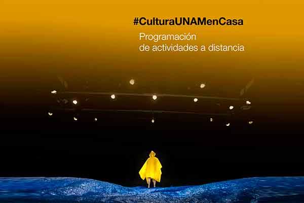 Inicia magno programa cultural a distancia de la UNAM