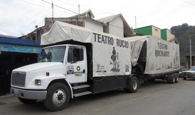 El Centro Dramático de Michoacán lleva su teatro móvil a municipios de toda la entidad