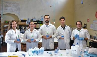 Dependencias del INAH producen sus propios sanitizantes y desinfectantes como medida por COVID-19