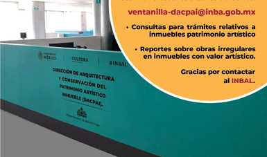 Continúan servicios del INBAL de protección al patrimonio artístico
