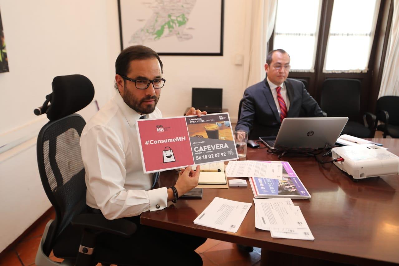 Reactiva alcaldía Miguel Hidalgo su economía local ante contingencia