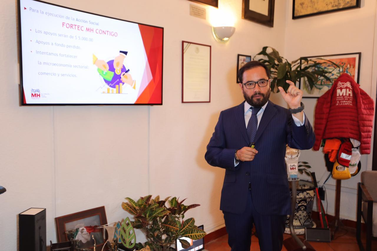 Invierte Miguel Hidalgo 150 mdp para reactivar su economía local