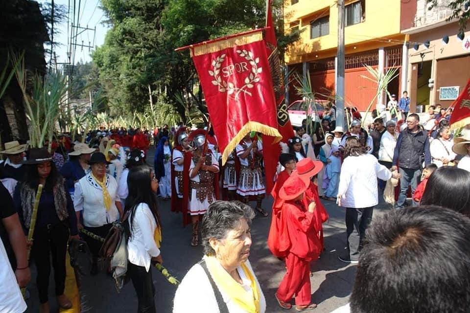 Poblado de San Pablo Chimalpa realiza festividad a pesar de instrucciones sanitarias