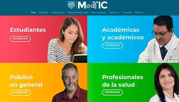 Facultad de Medicina pone en marcha MediTIC, plataforma digital para su comunidad
