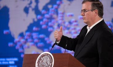 El Gobierno de México informa sobre el equipamiento adquirido para hacer frente a la pandemia de Covid-19