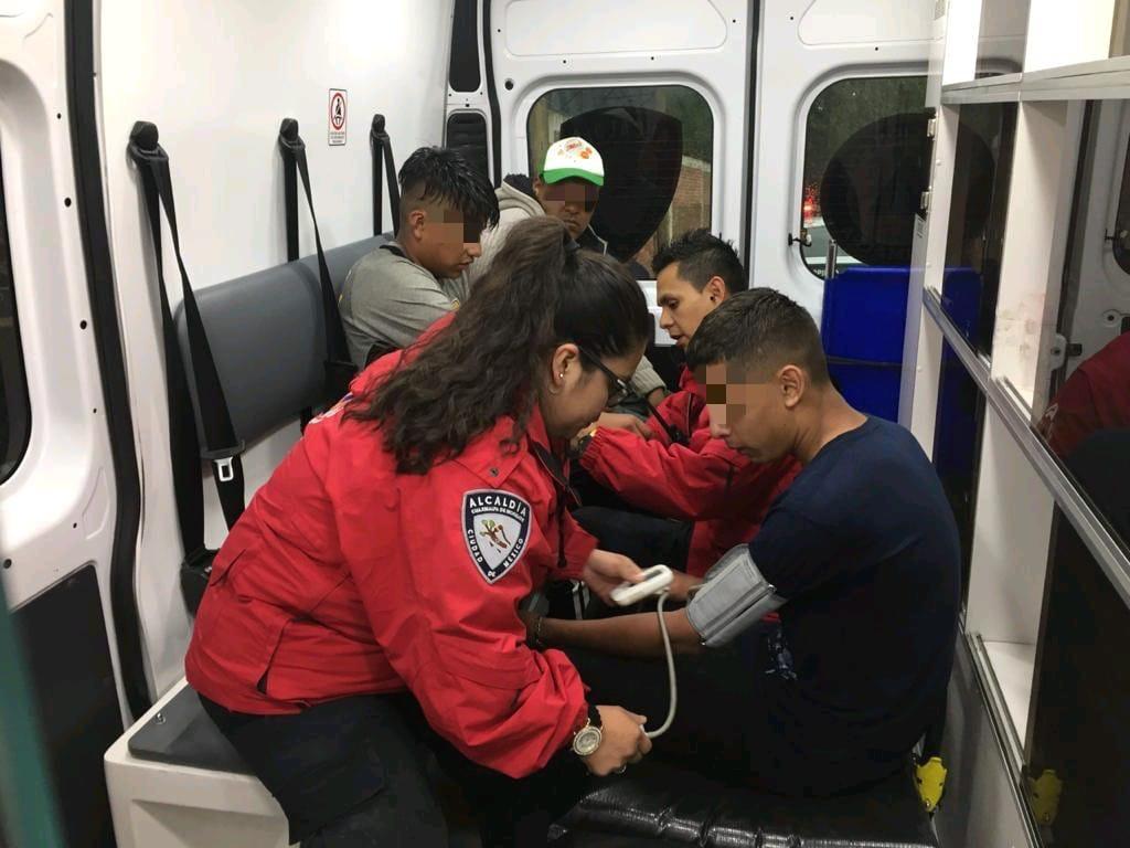 Dos menores se extraviaron en Cuajimalpa; los localizan a salvo gracias a la coordinación del comandante Edgar Bautista