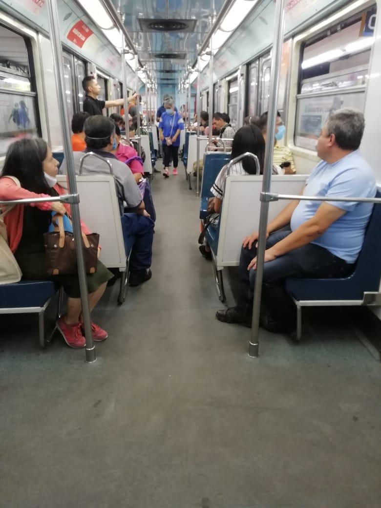 Historias en el metro - En boca tapada no entran virus