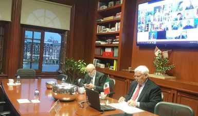 Exhorta México a países del G20 y organismos internacionales a cooperar para facilitar el flujo de alimentos a nivel global, ante COVID-19