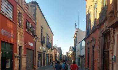 Revitalizan el Centro Histórico de San Luis Potosí con recuperación de fachadas