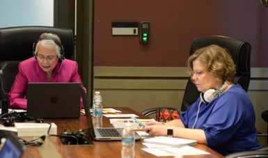 Encabezan secretaria de Gobernación y presidenta del Inmujeres conversatorio sobre reforma acerca de violencia política contra las mujeres