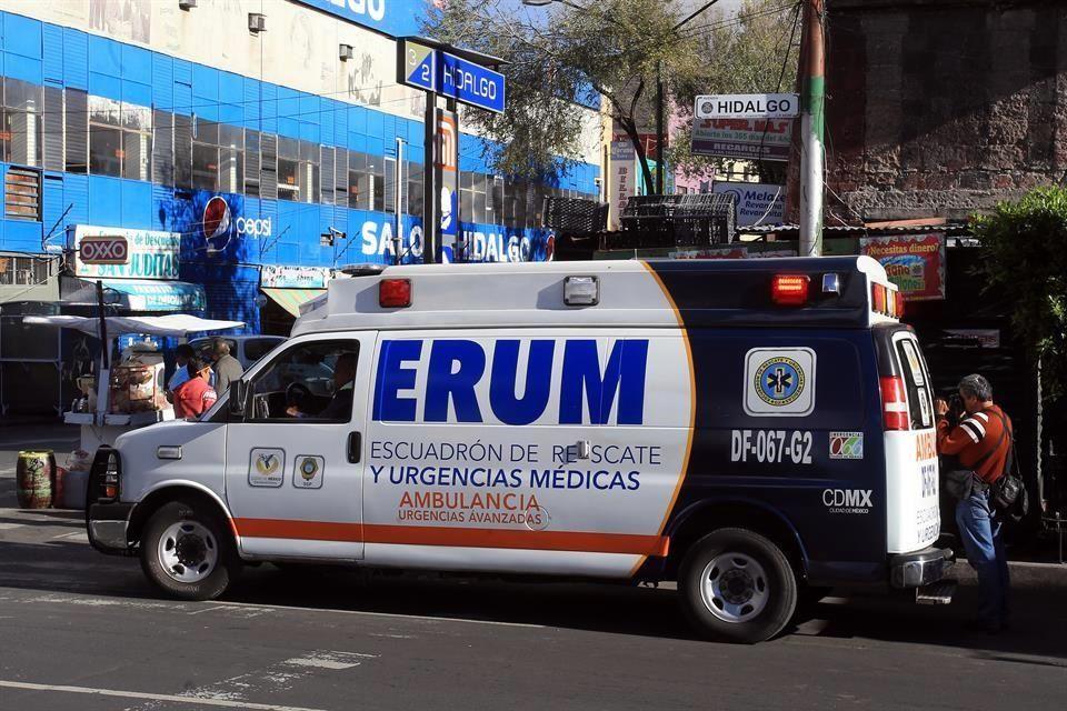 Personal del ERUM de la SSC preparado para apoyar a la ciudadanía ante la Fase 3 de emergencia por COVID-19