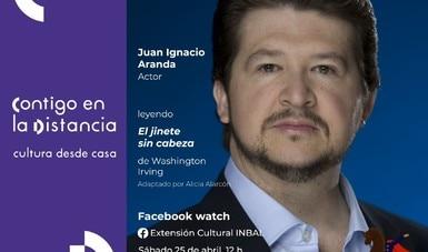 Juan Ignacio Aranda participa desde su casa en ¿Quieres que te lo lea otra vez?