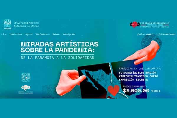 """Exitosa respuesta al concurso """"Miradas artísticas sobre la pandemia: de la paranoia a la solidaridad"""""""