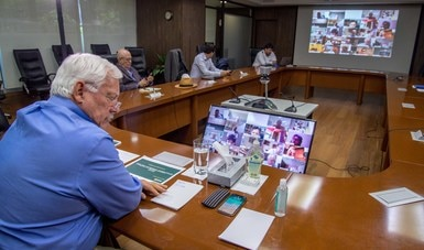 Fortalecen Agricultura, secretarios estatales, legisladores y CNA plan de trabajo ante la etapa de contingencia sanitaria