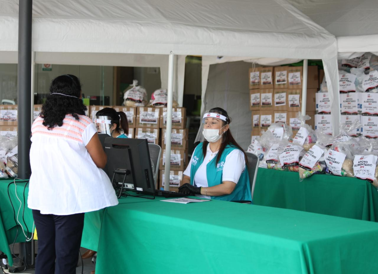 Abre MH centro de acopio para los más necesitados ante la contingencia sanitaria por COVID-19
