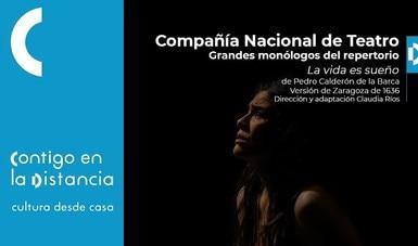 La Compañía Nacional de Teatro presenta monólogos de tres obras clásicas