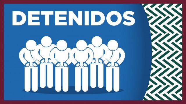 En la colonia Morelos, efectivos de la SSC detuvieron a nueve personas en posesión de armas, chalecos tácticos y estupefaciente