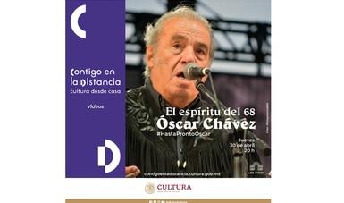 Óscar Chávez principal exponente de la lírica tradicional mexicana