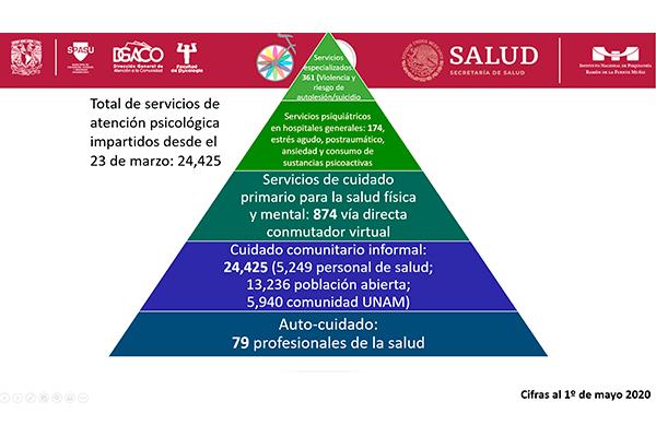Atiende la UNAM salud mental de la población durante contingencia sanitaria