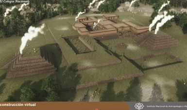 Con nuevas tecnologías reconstruyen virtualmente la ciudad prehispánica de Tingambato, en Michoacán