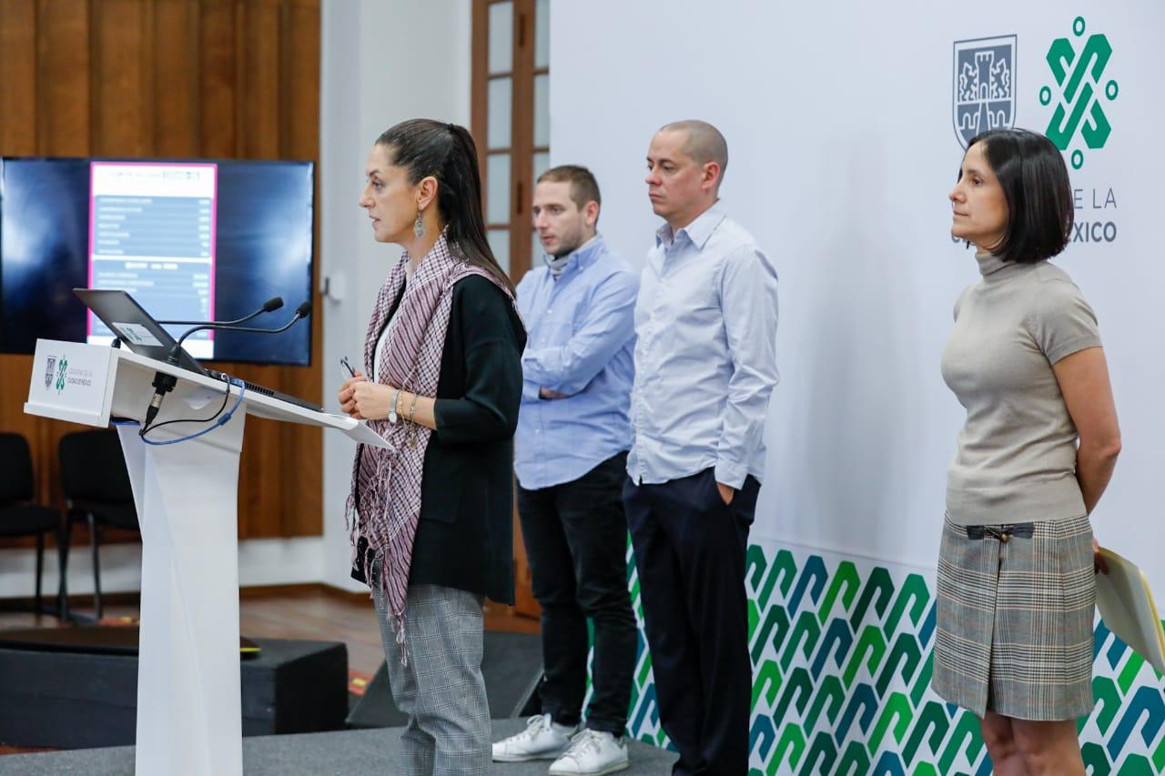 Presenta Gobierno capitalino portal de datos abiertos para transparentar información relacionada con COVID-19