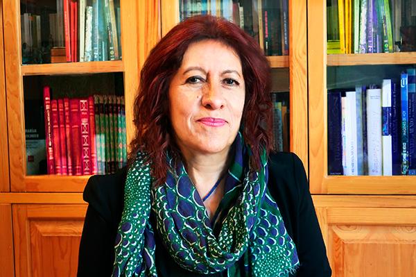 Carola García Calderón, directora interina de la Facultad de Ciencias Políticas y Sociales