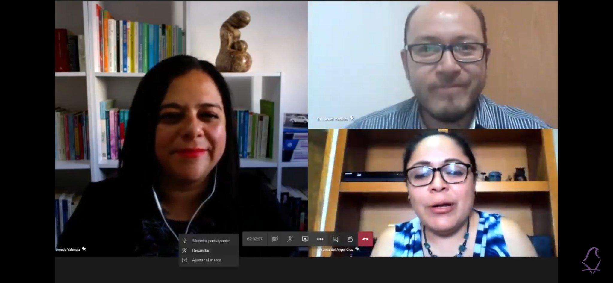 """Realiza IECM, primera charla virtual EN CONEXIÓN, con el tema """"Confinamiento, salud mental y trabajo en casa"""""""