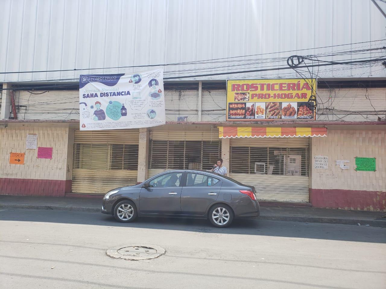 Cierran tres mercados más de Azcapotzalco para evitar contagios de COVID-19