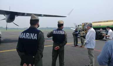 Estrategia contra COVID-19: Entrega Gobierno de México ventiladores a Quintana Roo, Tabasco y Baja California