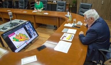Evalúan Agricultura y gobierno de Guerrero avances del Programa de Fertilizantes 2020