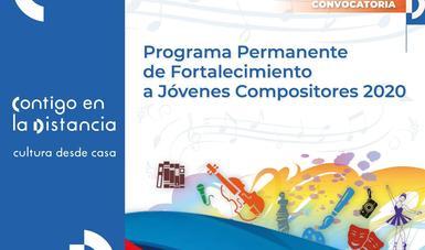 Abren convocatoria para el Programa Permanente de Fortalecimiento a Jóvenes Compositores 2020