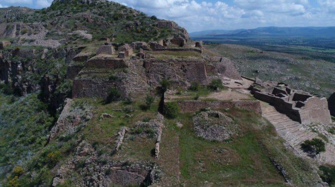 Generan modelo reconstructivo del Salón de las Columnas y otros edificios de La Quemada, Zacatecas