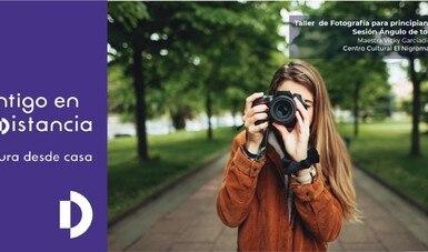 Aprende fotografía con el taller virtual del Centro Cultural El Nigromante