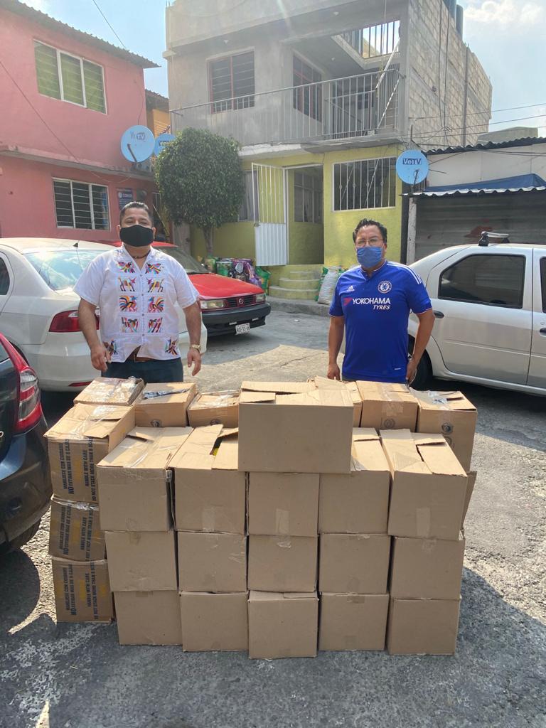 Redes Sociales Progresistas en CDMX vuelve a dar apoyo alimentario