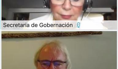 Palabras de la secretaria de Gobernación, Olga Sánchez Cordero, durante la videoconferencia de la Ruta de Foros Virtuales Divergencia Sexual