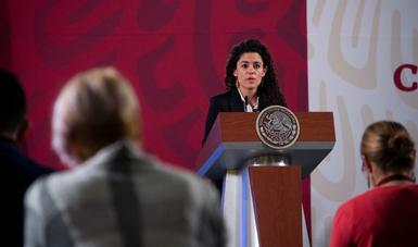 El 94% de las empresas inspeccionadas cumplen con las medidas sanitarias: Luisa María Alcalde