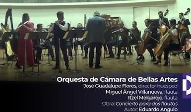 Presenta la OCBA Concierto para dos flautas, orquesta y arpa del compositor Eduardo Angulo