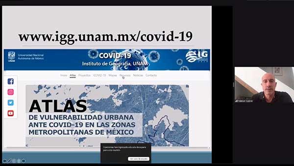 Presenta la UNAM Atlas de Vulnerabilidad en Zonas Metropolitanas del país ante COVID-19