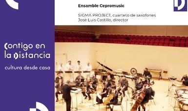 El Ensamble Cepromusic continúa con la oferta de variedad musical a través de conciertos contemporáneos