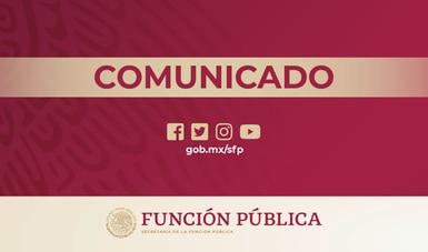 El Gobierno Federal es hoy percibido en encuesta del INEGI como el más honesto de los tres órdenes de gobierno: Función Pública