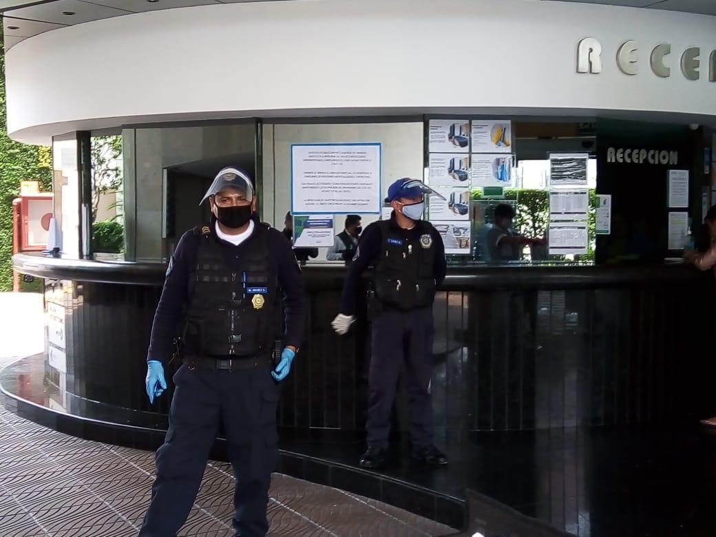 Miguel Hidalgo refuerza la seguridad en hoteles por COVID, con policías de la secretaría de seguridad ciudadana adscritos a la alcaldía