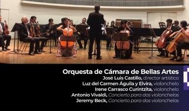 La OCBA interpreta Conciertos para dos violonchelos de Vivaldi y de Beck